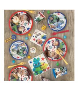 "8 Disney Toy Story 4 Round 9"" Dinner Plates"