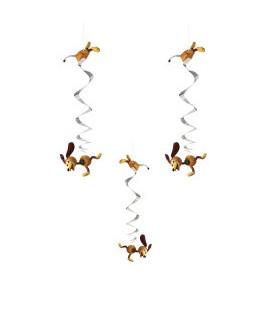 "Disney Toy Story 4 Hanging Swirl Decorations, 26"""