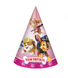 8 Paw Patrol Girl Party Hats