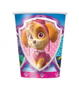 Paw Patrol Girl 9oz Paper Cups