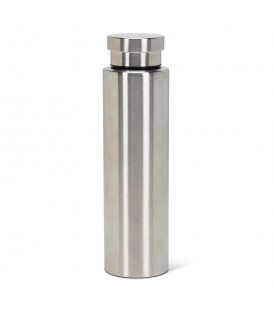 BEVI- 28 oz silver insulated bottle