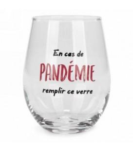 Verre à vin sans pied-Pandémie...