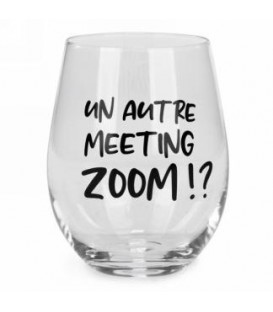Verre à vin sans pied-Meeting zoom...