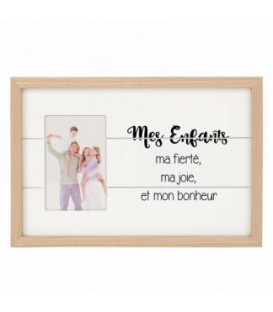 Mes enfants- 4 x6 '' Photo Frame