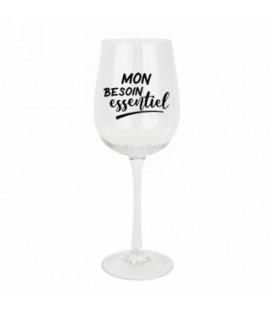 Verre à vin- Besoin essentiel