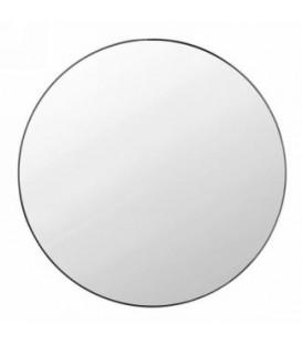 Miroir avec bordure noire 19.5'' diamètre