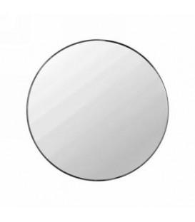 Mirror with black border 16 '' diameter
