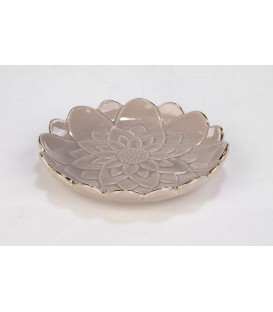 Small gray flower tray 5.5 '' D