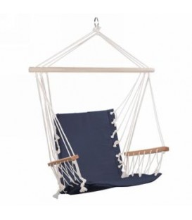 Hammock chair denim blue 35 x 45 ''