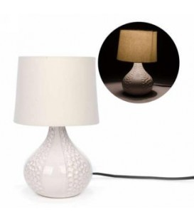 Ivory 7.5 x 12 '' table lamp