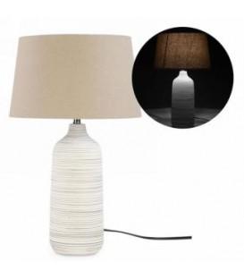 5 x 19 '' ribbed base table lamp