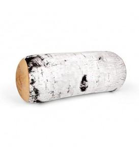 Birch log cushion