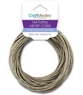 Natural hemp thread 15 feet