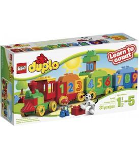 LEGO DUPLO le train des chiffres 23 pièces