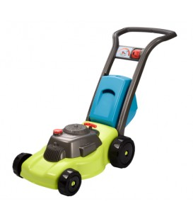 Lawnmower with container