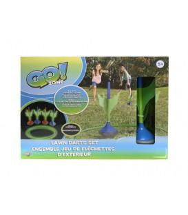 Go! Zone - Glow In The Dark Lawn Darts Set