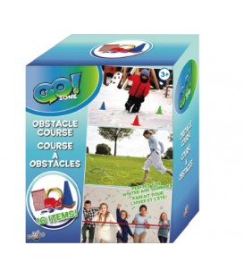 Go! Zone- Obstacle course set