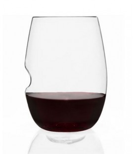 Set of 2 stemless in polymer wine glass GOVINO