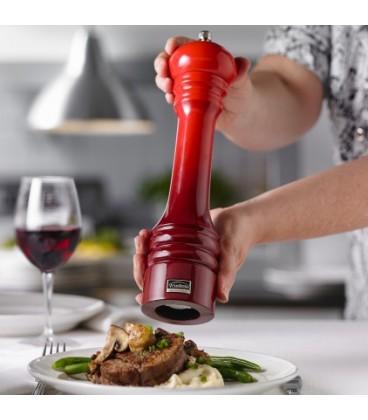 Moulin à poivre ombré rouge professionnel 30 cm