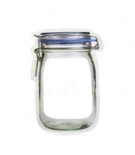 Zipper Mason Jar lar