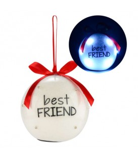 Boule lumineuse BEST FRIEND