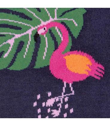 Bas funky Flamingo