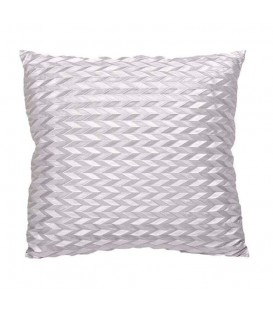 Silver quartz cushion