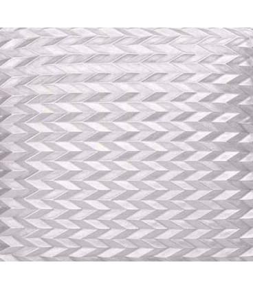 Silver quartz cushion