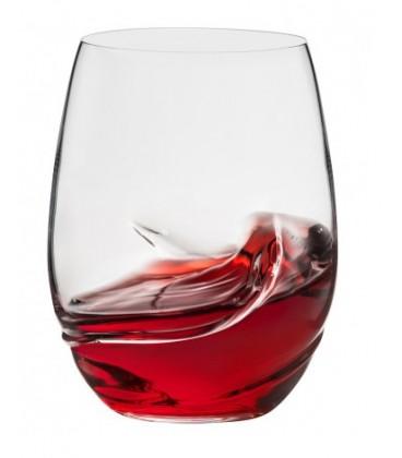 Ensemble de 2 verres à vin sans pied OXYGEN