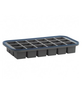 Squared ice cube tray