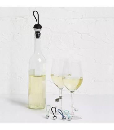 Breloques pour verres à vin et bouchon BAUBLE