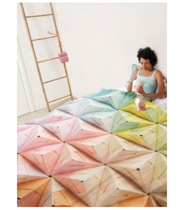 Twin Duvet Cover GEOGAMI