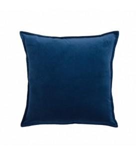 Coussin en velours bleu ZEN