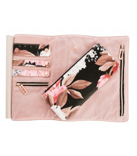 Jewelry roll FLORAL BOUQUET
