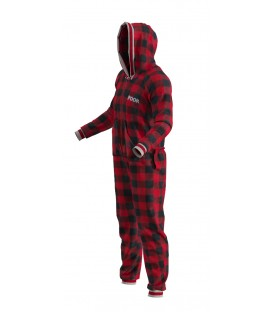 POOK Onesie Adult Red
