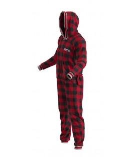 Pyjama pour adulte rouge POOK
