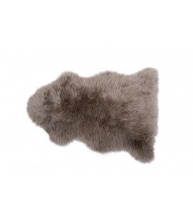 Australian sheep fur rug  TAUPE