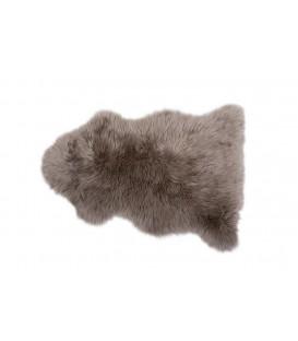 Tapis de fourrure de mouton AUSTRALIEN TAUPE