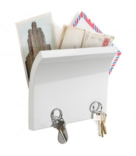 Magnetic key panel and letter WHITE