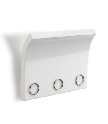 Panneau magnétique pour clés BLANC