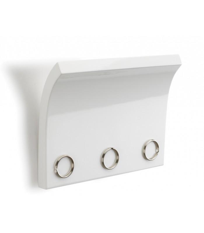 panneau magn tique pour cl s blanc. Black Bedroom Furniture Sets. Home Design Ideas