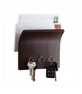 Magnetic key panel and letter BROWN