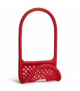 Flexible red sink caddy SLING
