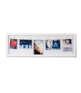 White frame CLOTHESLINE