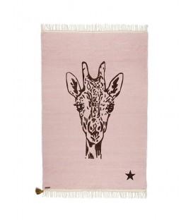 Pink girafe rug GYPSY