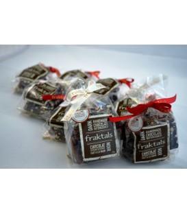 Fraktals au Chocolat noir 70% et au sirop d'érable biologique – 100g