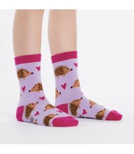 Youth socks Hedgehog Heaven