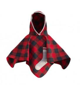 Poncho rouge pour enfant POOK