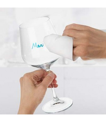 Ensemble de 3 marqueurs pour verres