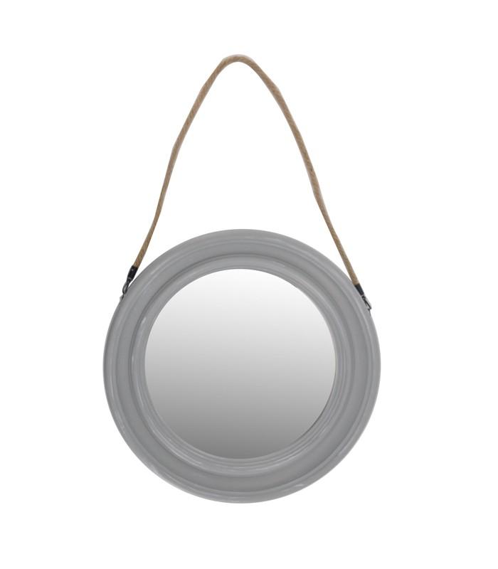 Corde tresse simple nouveau mode italienne paillettes mise niveau paille corde tresse - Miroir rond avec corde ...